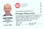 certification Thermocam Philippe Weykmans